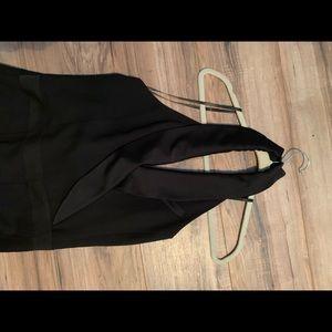 NWT Black Tuxedo Jumpsuit